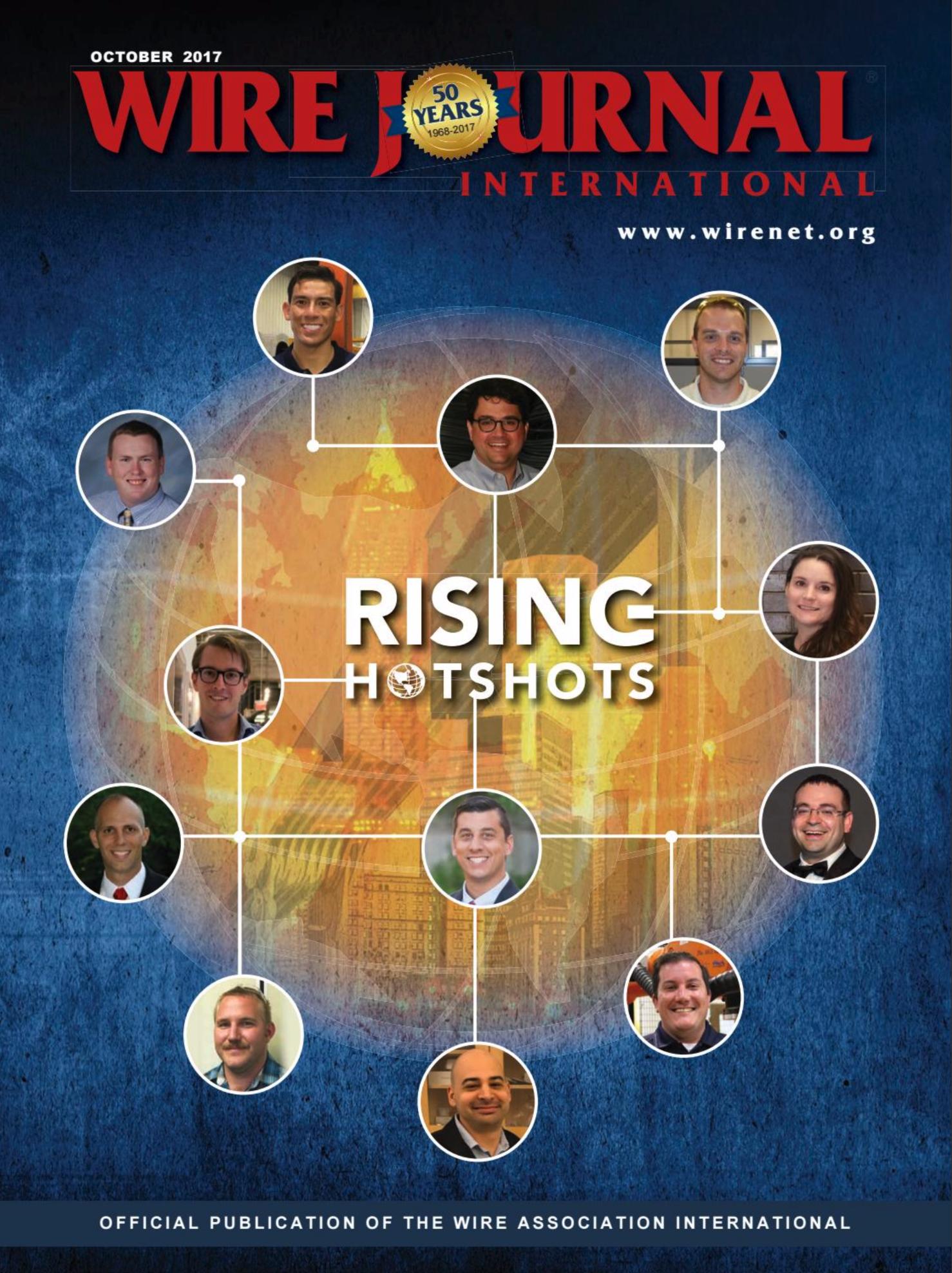 Willem Sundblad Rising Industry Hotshot Wire Journal International