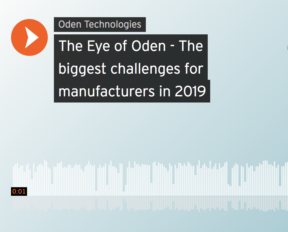 The Eye of Oden podcast – Episode 4: Sam Cessna on cutting through the Industry 4.0 noise